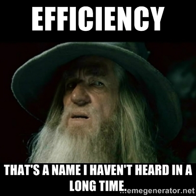 slack-efficiency
