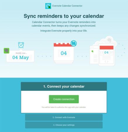 Evernote Calendar