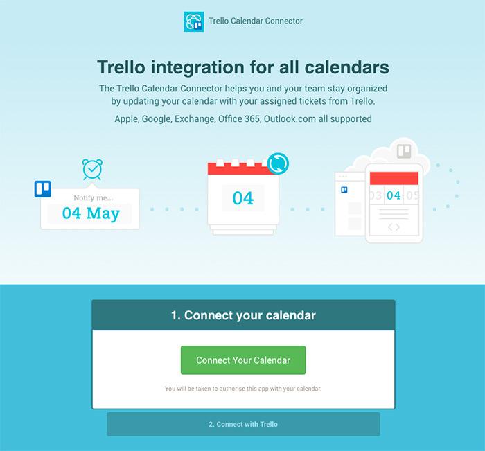 Trello Calendar Connector