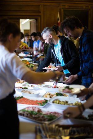 Some of the food on offer at a previous Hack24