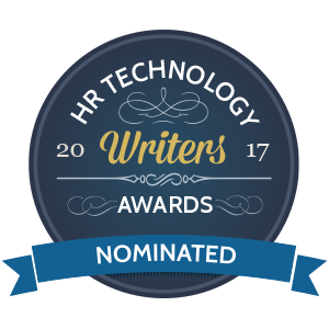 HR Technology Writers Awards 2017 Nomination.