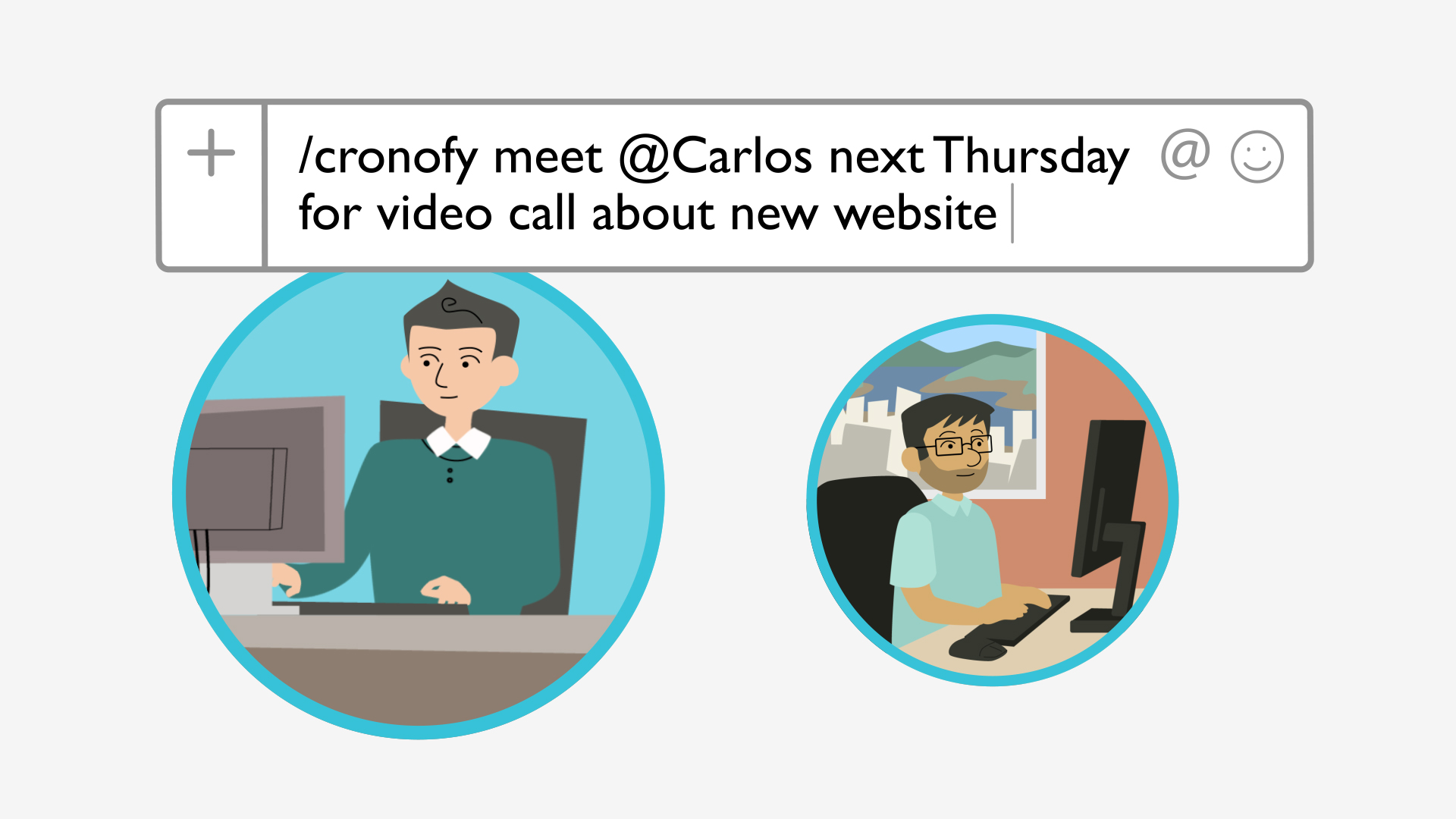 Schedule meetings in Slack with the Cronofy Calendar Connector