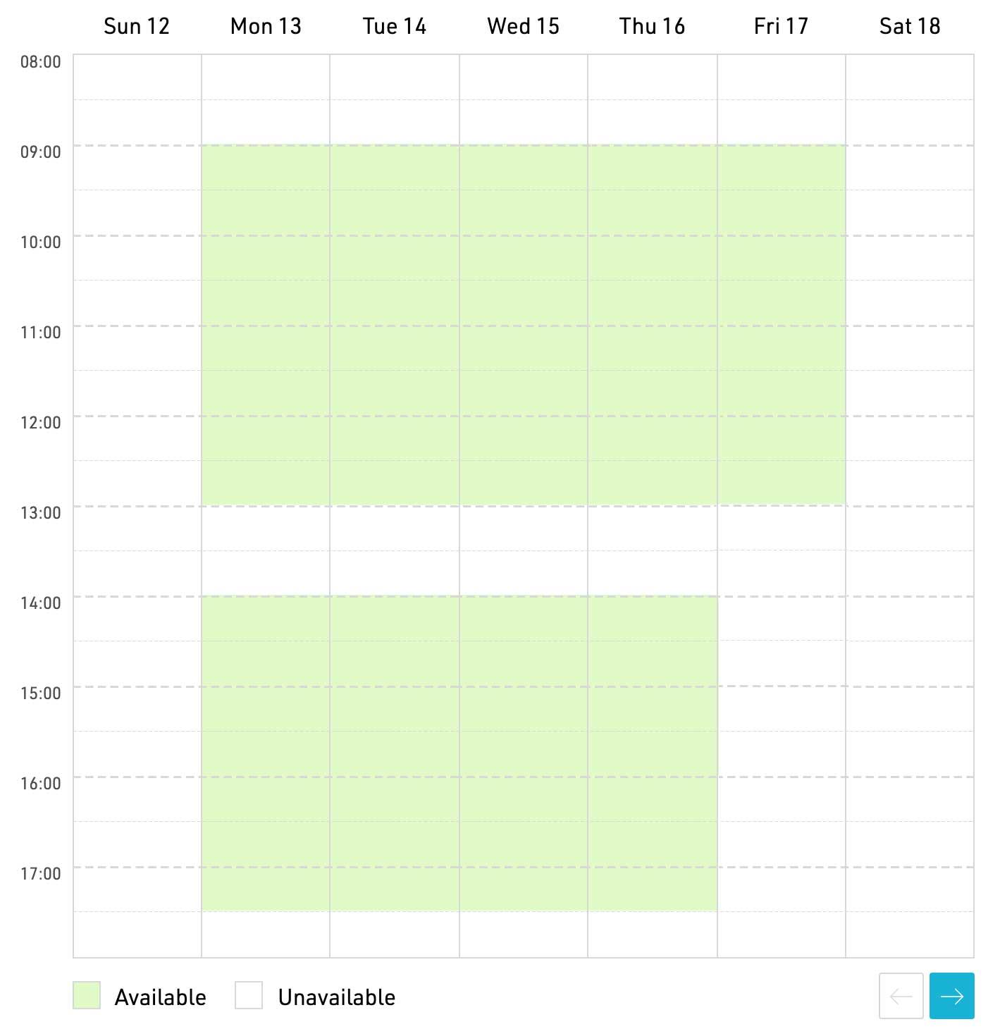 User Interface Elements | Cronofy Calendar API